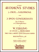 48 Famous Studies for Oboe or Saxophone by W. Ferling