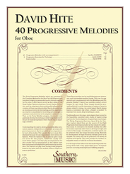 Forty Progressive Melodies by A.M.R. Barret edited by David L. Hite