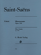 Camille Saint-Saens Sonata for Oboe and Piano