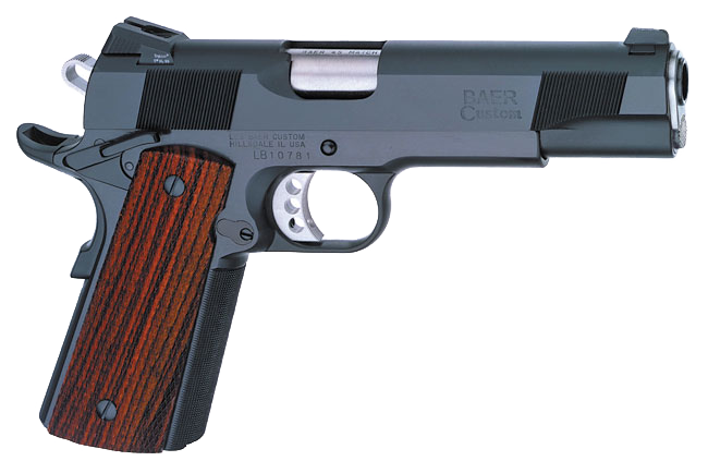Novak LoMount Sights Installed on a Les Baer Custom 1911