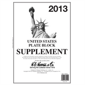 2013 H. E. Harris U.S. Plate Block Album Supplement