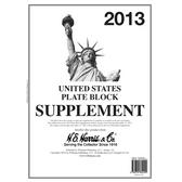 2013 H. E. Harris U.S. Plate Block Album Supplement