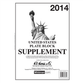 2014 H. E. Harris U.S. Plate Block Album Supplement