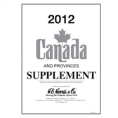 2012 H. E. Harris Canada Album Supplement
