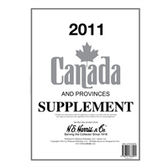 2011 H. E. Harris Canada Album Supplement