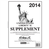 2014 H. E. Harris Liberty II Album Supplement