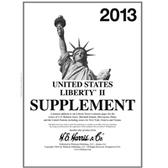 2013 H. E. Harris Liberty II Album Supplement