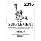 2015 H. E. Harris Liberty II Album Supplement