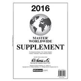2016 H. E. Harris Worldwide Album Supplement