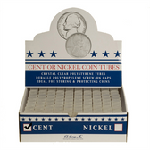 Whitman/H. E. Harris Box of Nickel Coin Tubes (100 Count)