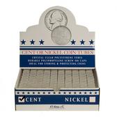Whitman/H. E. Harris Box of Nickel Coin Tubes (100 Count)