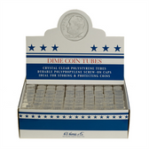 Whitman/H. E. Harris Box of Dime Coin Tubes (100 Count)