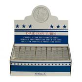 Whitman/H. E. Harris Box of Dime Coin Tubes (100 Count)