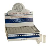 Whitman/H. E. Harris Box of Quarter Coin Tubes (100 Count)