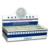 Whitman/H. E. Harris Box of Half-Dollar Coin Tubes (100 Count)