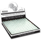 Whitman/H.E. Harris SBA/Sacagawea/Presidential Dollar - Polystyrene Coin Tubes (100 Count)