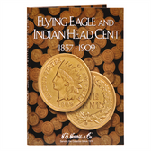 H. E. Harris Flying Eagle and Indian Cents Folder (1857 - 1909)