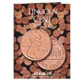 H. E. Harris Lincoln Cents Folder #3 (1975 - 2013)