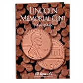 H. E. Harris Lincoln Memorial Cents Folder #1 (1959 - 1998)