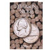 H. E. Harris Jefferson Nickel Folder (1938 - 1961)
