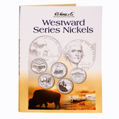 H. E. Harris Westward Journey Nickel Series Folder (2004 - 2006)