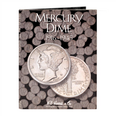 H. E. Harris Mercury Dime Coin Folder (1916 - 1945)