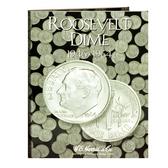 H. E. Harris Roosevelt Dime Coin Folder (1946 - 1964)