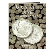 H. E. Harris Roosevelt Dime Coin Folder (2000 - 2005)