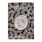 H. E. Harris Dimes - Plain Coin Folder