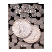 H. E. Harris Standing Liberty Quarter Coin Folder (1916 - 1930)