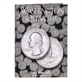 H. E. Harris Washington Quarter Coin Folder (1932 - 1947)