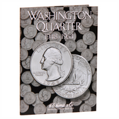 H. E. Harris Washington Quarter Coin Folder (1948 - 1964)