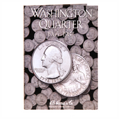H. E. Harris Washington Quarter Coin Folder (1965 - 1987)