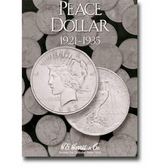 H. E. Harris Peace Dollar Coin Folder (1921 - 1935)