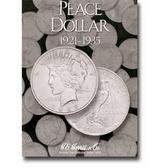 H. E. Harris Peace Dollar Coin Folder (1921 - 1935)