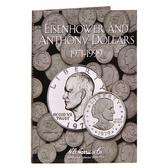H. E. Harris Eisenhower-Anthony Dollar Coin Folder (1971 - 1999)
