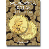 H. E. Harris Sacagawea Dollars Folder (2000 - 2004)