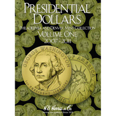 H. E. Harris Presidential Dollar Folder, Volume I (2007 - 2011)