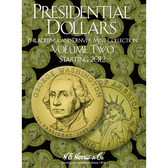 H. E. Harris Presidential Dollar Folder, Volume II (2012 - 2016)