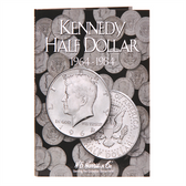 H. E. Harris Kennedy Half Dollar Coin Folder (1964 - 1984)