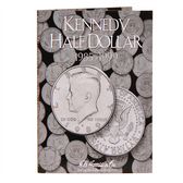 H. E. Harris Kennedy Half Dollar Coin Folder (1985 - 1999)
