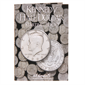 H. E. Harris Kennedy Half Dollar Coin Folder (2000 - 2015)