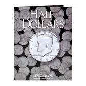 H. E. Harris Plain Half Dollar Coin Folder