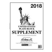 2018 H. E. Harris U.S. Plate Block Album Supplement