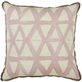 LaceField Indoor Blush Pillow