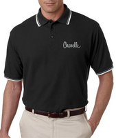 GM LICENSED CHEVROLET CHEVELLE EMBROIDERED POLO SHIRT