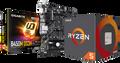 AMD RYZEN 5 2600 Combo