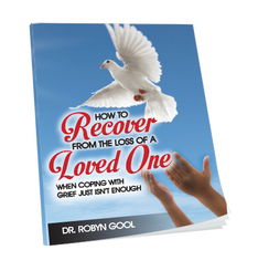 This powerful book by Dr. Robyn Gool reminds us of God's desire to comfort us during difficult times. He shares five invaluable keys to help assist you when recovering from the loss of a loved one. With God's help, by following these biblical principles, you will be able to move forward in healing and wholeness, overcoming the negative emotions that death presents us.