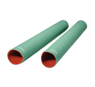 "FlexFab Green Wire Reinforced Coolant Hose 2"""