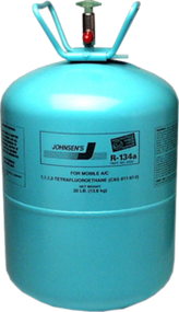 Johnsen's R-134a Refrigerant, 30# Tank